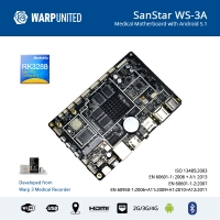 SanStar™ WS-3A Medical Computer Motherboard on Android, EN 60601 Compliant
